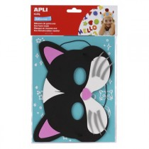 MASQUE EN MOUSSE CHAT APLI