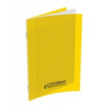 CAHIER PIQUE 17X22 192 PAGE POLYPRO