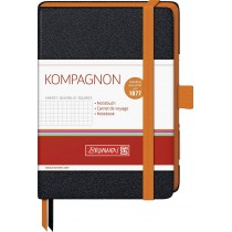 CARNET DE NOTES A6 5x5 BRUNNEN