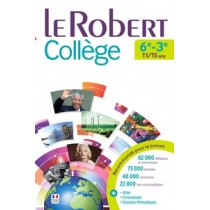 LE ROBERT COLLEGE DICTIONNAIRE DE FRANCAIS 2016