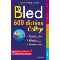 LE BLED 600 DICTEES COLLEGE
