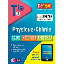 Defibac  Physique  Chimie Term S BORDAS