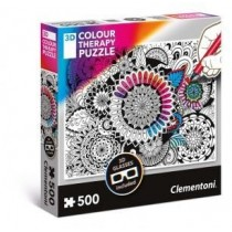 Puzzle 500 Pieces 3d : Colour Therapy