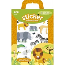 Stickers adventure (savane)...