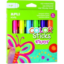 Colors Sticks fluo 6 couleurs APLI