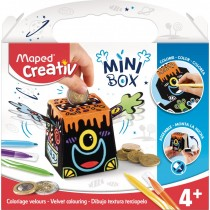 Mini Box Coloriage Velours MAPED CREACTIV