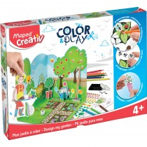 Mon Jardin A Creer Color And Play MAPED CREATIV