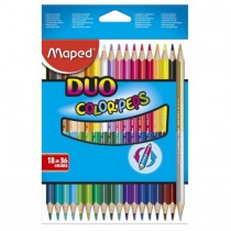 CRAYONS COULEURS MAPED DUO...