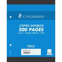 copies doubles perforées...